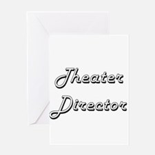 Theater Director Classic Job Design Greeting Cards
