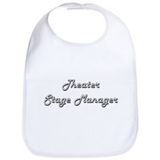 Theater Stage Manager Classic Job Design Bib