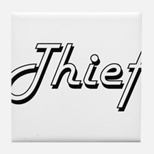Thief Classic Job Design Tile Coaster