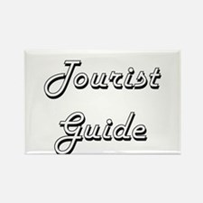 Tourist Guide Classic Job Design Magnets