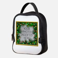 Xmas Stars Neoprene Lunch Bag