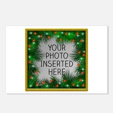 Xmas Stars Postcards (Package of 8)