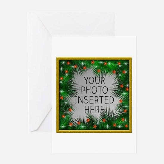 Xmas Stars Greeting Card