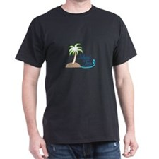 ISLAND TIME APPLIQUE T-Shirt