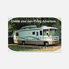 RVing Adventure Magnets