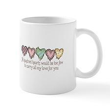 A HUNDRED HEARTS Mugs
