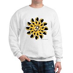 Sun-wise Om (Aum) Sweatshirt