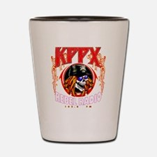 KPPX REBEL RADIO  Shot Glass