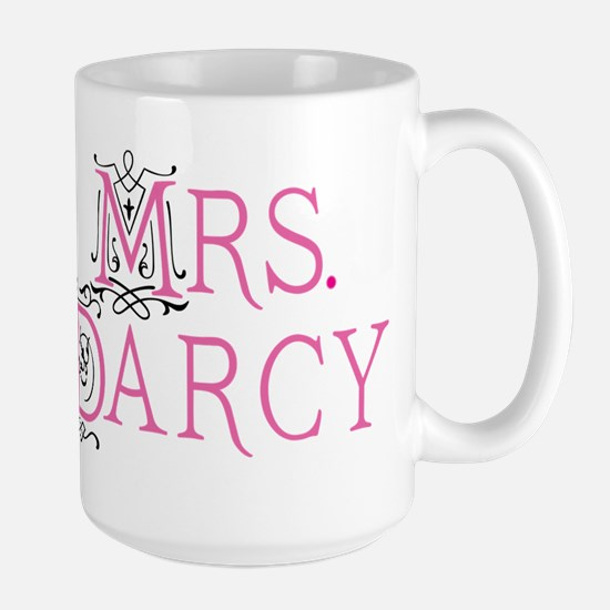 Mrs Darcy Jane Austen Large Mug Mugs