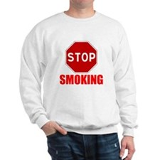 Stop Smoking Sweatshirt