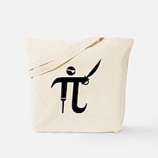 Pirate Pi Tote Bag