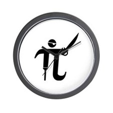 Pirate Pi Wall Clock