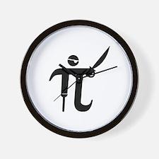 Pirate Pi Wall Clock
