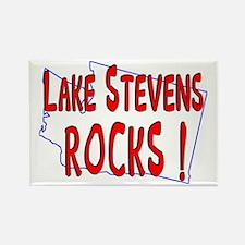Lake Stevens Rocks ! Rectangle Magnet