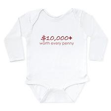 Cute Pennie Long Sleeve Infant Bodysuit