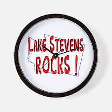 Lake Stevens Rocks ! Wall Clock