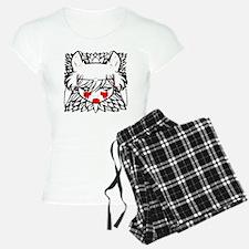 wolf princess pajamas