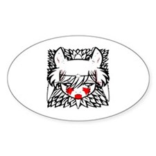 wolf princess Decal