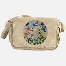 Dazzlin' Butterfly Columbine Messenger Bag