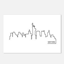 New York cityscape Postcards (Package of 8)