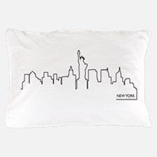 New York cityscape Pillow Case