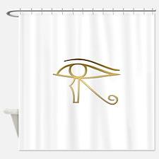 Eye of Horus Egyptian symbol Shower Curtain