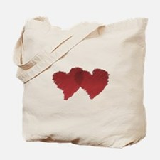 Connected Love Hearts Tote Bag