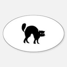 Black Cat figure Decal