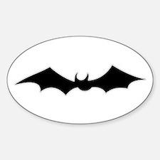 Bat spooky figure Decal