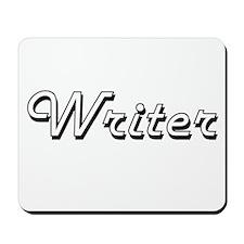 Writer Classic Job Design Mousepad