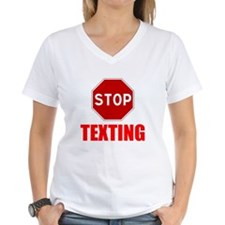 Stop Texting T-Shirt