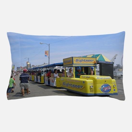 Watch the Tram Car  Pillow Case