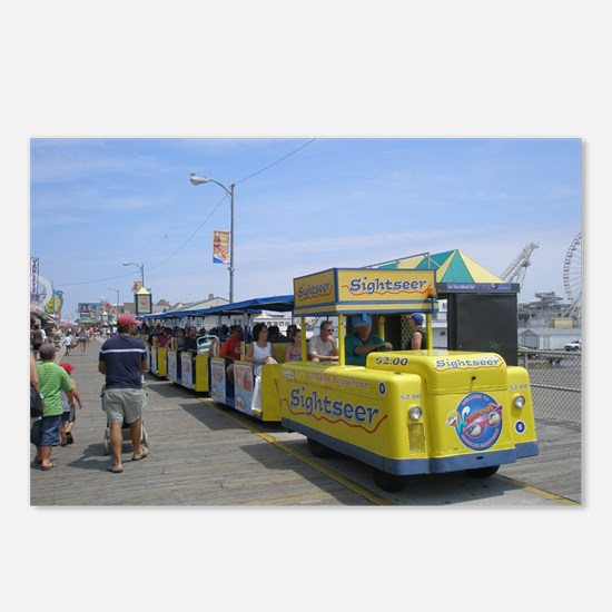 Watch the Tram Car  Postcards (Package of 8)