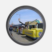 Watch the Tram Car  Wall Clock