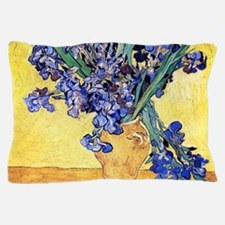 Van Gogh Iris Vase Pillow Case