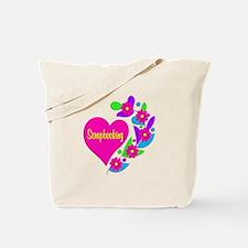 Scrapbooking Heart Tote Bag