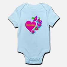 Scrapbooking Heart Infant Bodysuit