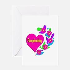 Scrapbooking Heart Greeting Card