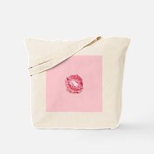 Red Lipstick Kissable Valentines Day Desi Tote Bag