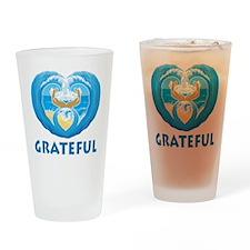 GratefulLogo1 Drinking Glass