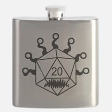 Funny D20 Flask
