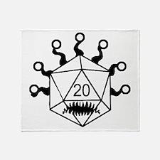 Cute Dungeons Throw Blanket