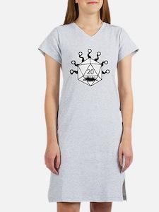 Funny D20 Women's Nightshirt