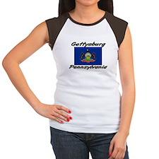 Gettysburg Pennsylvania Women's Cap Sleeve T-Shirt