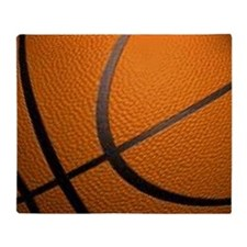 Basketball Sports Throw Blanket
