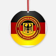 Deutschland Emblem Ornament (Round)