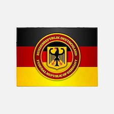 Deutschland Emblem 5'x7'Area Rug