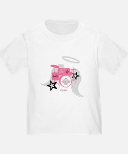 Pink Baby Drums T