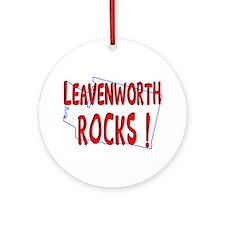 Leavenworth Rocks ! Ornament (Round)