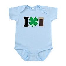 I Love Guiness Infant Bodysuit